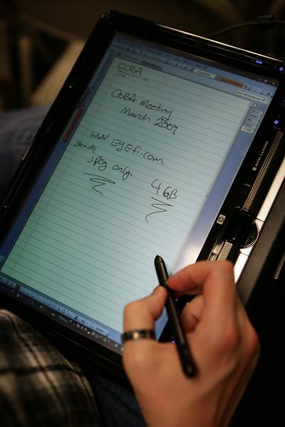 Tablet PC, like a giant Newton.