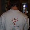 Dave Strom sports his Newton t-shirt at the 7th Anniversary Stanford Newton User Group meeting.