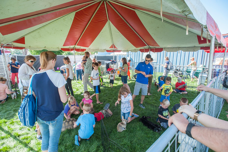 The community gathers for the Davis County Fair, the event is chock full of entertainment, food and activities for the kids at the Legacy Events Center in Farmington on Wednesday August 16, 2017.