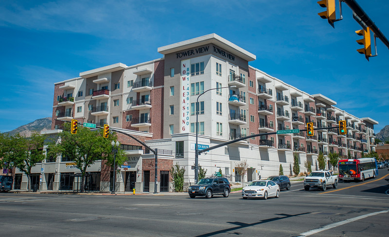 Ogden City concerned about surge of apartments, other multi-family dwellings being built in commercial zones not in the downtown area. Shot in Ogden, on September 2, 2020.