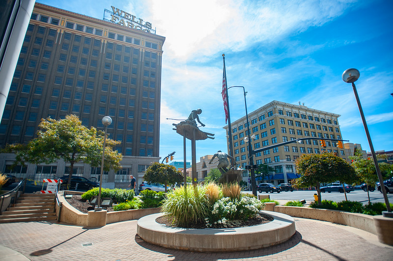 Photo of Downtown Ogden. Shot on September 2, 2020.