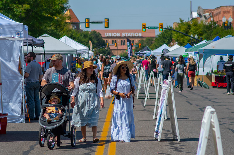 Voterise is holding a voter-registration initiative during Farmer's Market ,in Ogden on August 29, 2020.