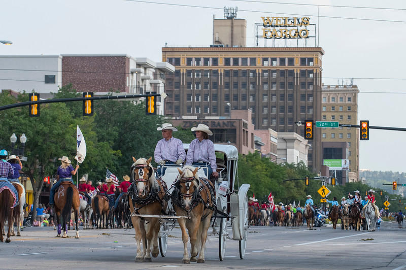Local residents gather to watch the Horse and Hitch Parade on Monday In Ogden on July 17, 2017.