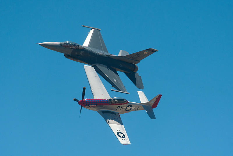Over 500,000 people attended the Hill Air Force Base Air Show over the weekend. In Layton On June 29, 2014.  (BRIAN WOLFER/Standard-Examiner)'