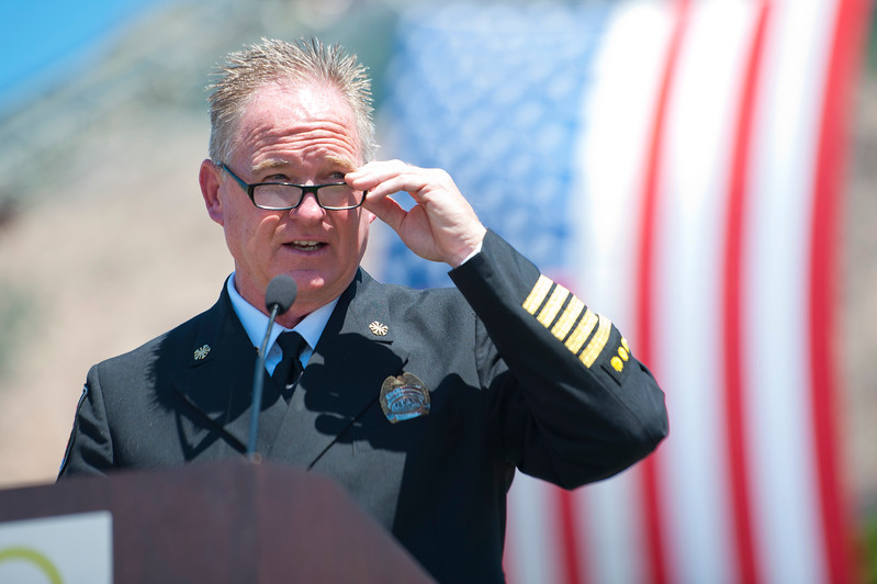 Ogden City Fire Department Chief Mike Mathieu is pleased to announce a groundbreaking ceremony for the new Station #3 in Ogden. The ceremony took  place on Monday, July 20th in North Ogden