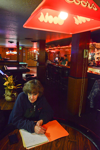 JC Warby the owner of The Old Man Saloon sits down and talks about the bars long history with Ogden. On December 20 2013. (Brian Wolfer Special to the Standard-Examiner)