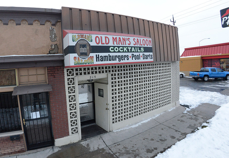 The Old Man Saloon is closing after 70 years of business. Opened in 1940, it's been a big part of Ogden history. On December 20 2013. (Brian Wolfer Special to the Standard-Examiner)