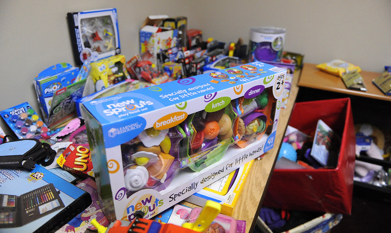 Prevent Child Abuse Utah organization has stock piled toys and basic necessities for young children. On December 11th 2013.(Brian Wolfer Special to the Standard-Examiner)