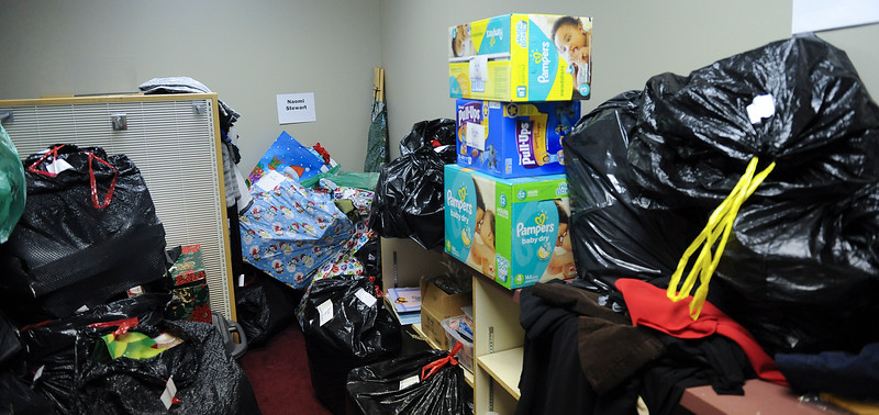 Parents and kids in rough situations have a place to turn to for basic items like diapers and cloths. In Ogden, on December 11th 2013.(Brian Wolfer Special to the Standard-Examiner)