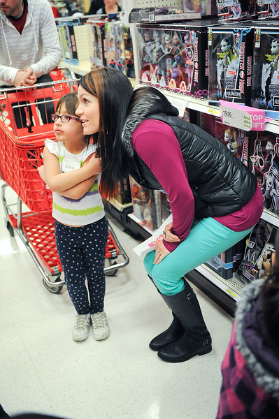 Ogden Clinic holding its second annual Shop with a Doc event. Health care workers take 50 needy children shopping for Christmas. On December 7 2013.(Brian Wolfer Special to the Standard-Examiner)