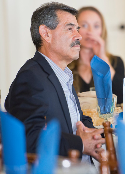 Local restaurant owner Javier Chavez attends the Standard-Examiner Readers' Favorite event. He is the owner of the Javier's Mexican Food in ogden. At the Grand View Reception & Event Center in Ogden on June 10, 2015.
