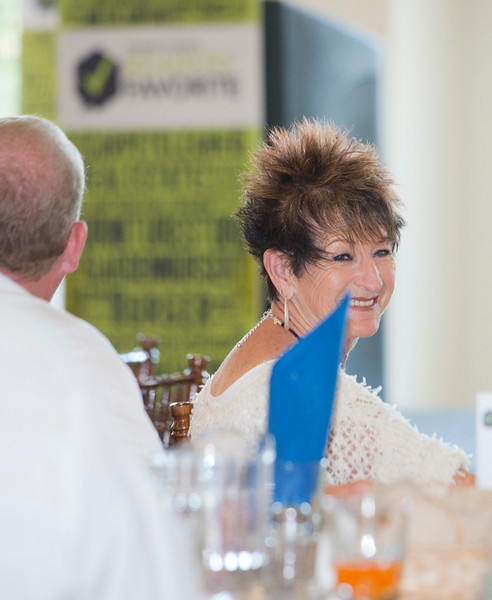 Local restaurant owner Karen Hill attends the Standard-Examiner Readers' Favorite event. She is the owner of the Timbermine Steak house in ogden. At the Grand View Reception & Event Center in Ogden on June 10, 2015