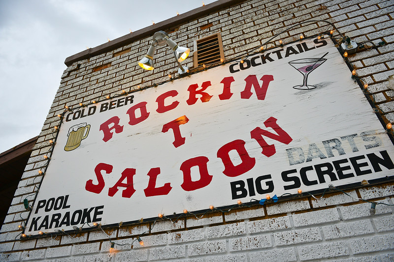 Rockin T Saloon is a place where people get together and have a drink, but more recently it has become a place of family and community. Bartender Tammy Jo Summers has fallen on hard times, but her coworkers at the bar and a couple of patrons stepped in to help out in a big way. In Ogden, On September 25 2013.(Brian Wolfer Special to the Standard-Examiner)