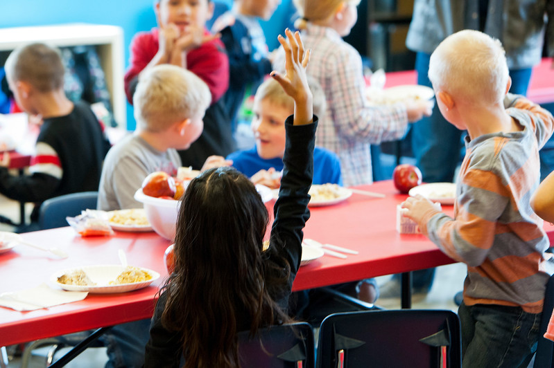 The YMCA has started serving food to kids after school and it is making a huge difference for the students. All of the Ogden sites now get food during their after school programs. In Ogden on March, 25 2015.