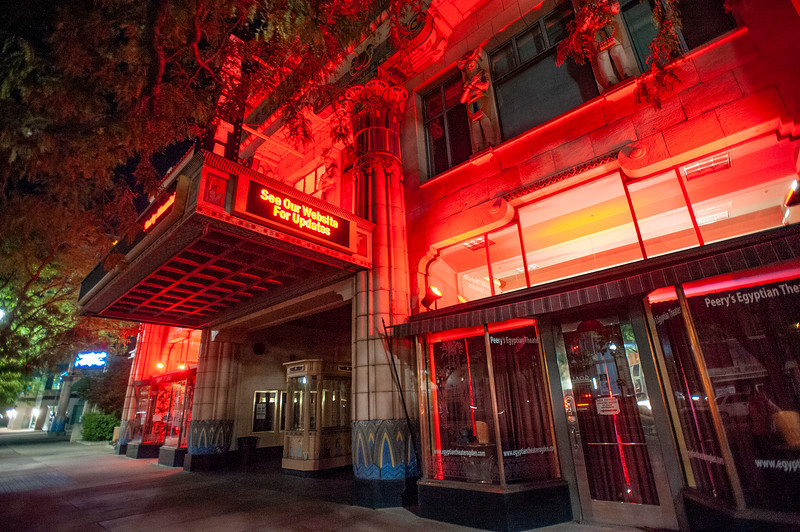 Ogden venues participating in national campaign in support of the live events industry, which has been crippled by COVID-19 restrictions. They'll be turning on red lights, presumably outside and visible to public, to show their solidarity. In Ogden, On September 1, 2020.