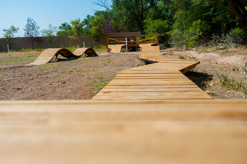 The Trackline bike park is set to open Oct. 2. It's part of the city's big trackline economic development district, to revitalize the West Ogden area.