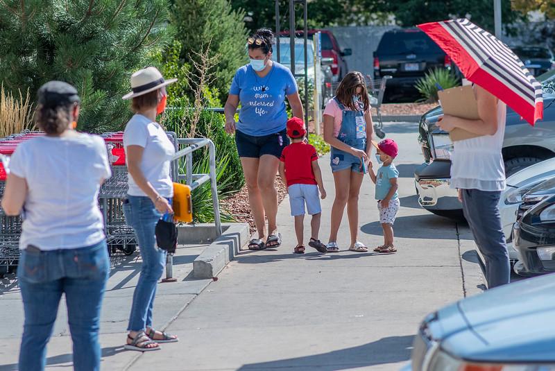 Voto Latino Ogden held a registration event at the Rancho Market in Ogden. On August 29,2020.