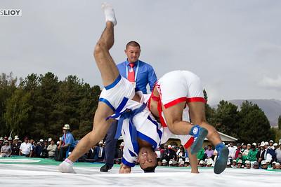 Kazakh Wrestling at the World Nomad Games