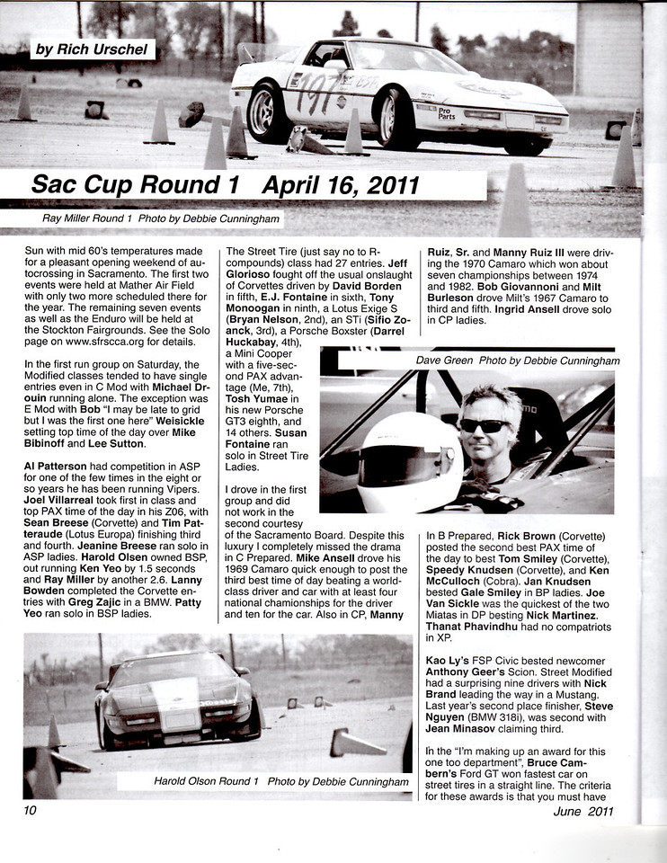 SCCA's The Wheel June 2011