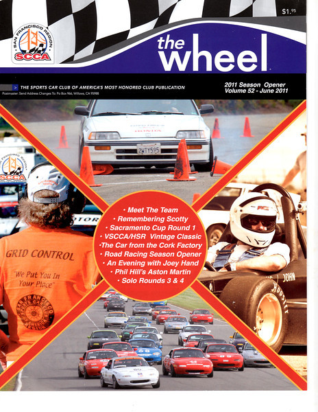 SCCA's The Wheel June 2011 Right Photo