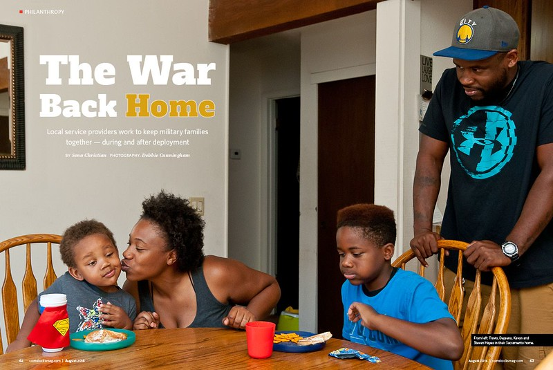 The War Back Home SPREAD 1 August 2016 Comstocks
