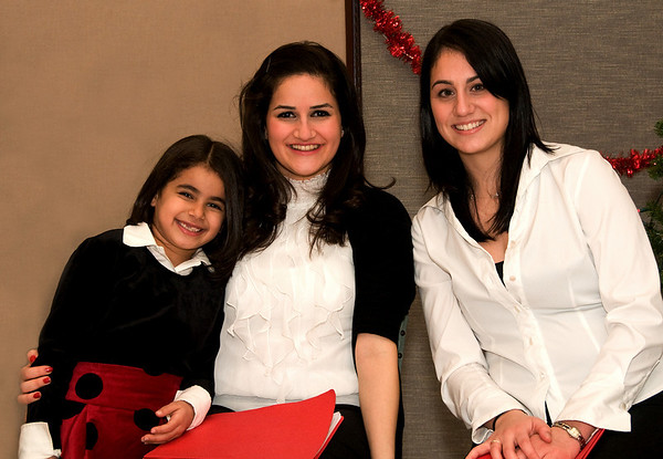 Anna-Teresa Ammoun, Samantha Ammoun et Denyse Loubert