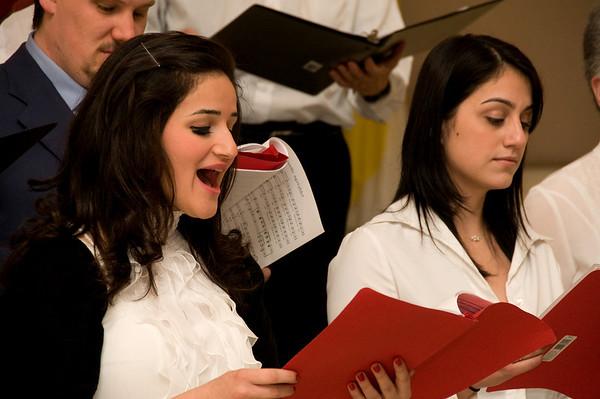 Samantha Ammoun, soprano, et Denyse Loubert, Alto