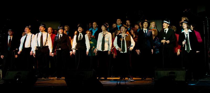 Chants de Noël à l'école de l'ile, Gatineau, Québec, le 12 décembre 2009