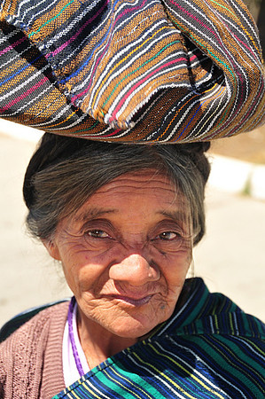 Elderly Woman Relocated from Santa Catarina Ixtahuacan, after Earthquake,  Guatemala - 4569