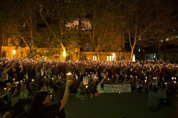 Asylum Seeker Vigil 2014