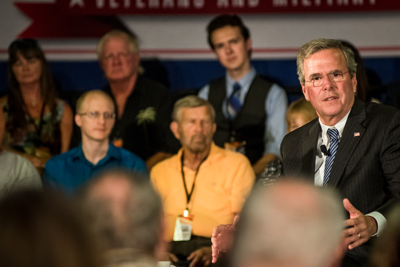 Jeb Bush Town Hall Columbia, SC