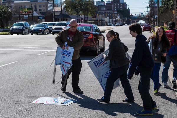 Bernie Sanders at Township