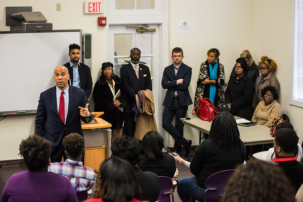 Cory Booker at Benedict College