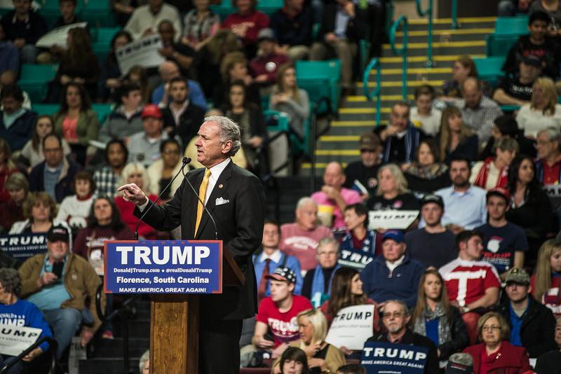 Trump speech in Florence, SC