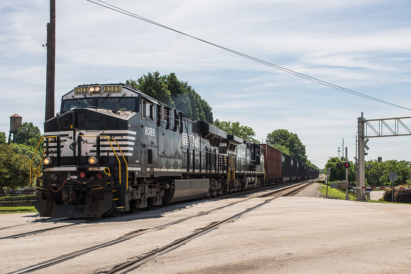 A Norfolk Southern train crosses South Assembly Street, in Columbia on June 6, 2018. John A. Carlos II / Special to The Free Times