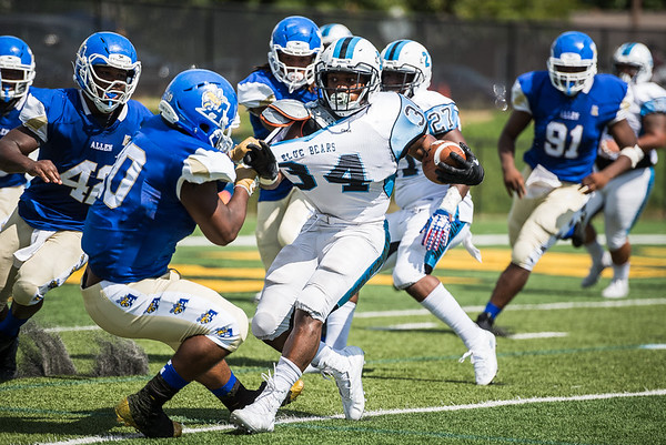 Allen University Vs. Livingstone College at W.C. Hawkins Stadium in Irmo, SC on September 8, 2018. John A. Carlos II / Special to The Free Times