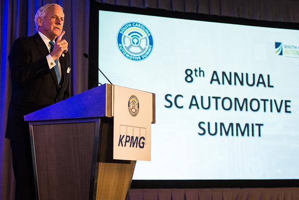 8th Annual SC Automotive Summit at Hyatt Regency, in Greenville on February 21, 2019. John A. Carlos II
