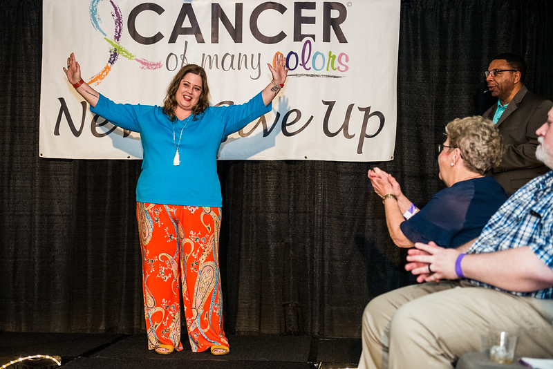 Cancer of Many Colors - Fashion for Fighters Runway Show at Wingate by Wyndham, in Lexington on February 7, 2019. John A. Carlos II