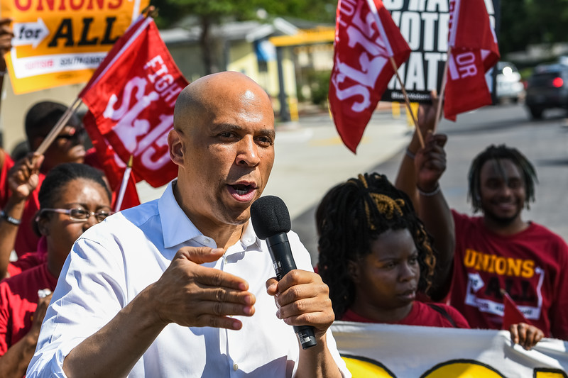 Fight for $15, in Charleston, SC on June 15, 2019. John A. Carlos II