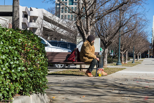 Two years ago Scott lost his home in Camden, SC he has been homeless ever since. Scott has been spending his nights at the Oliver Gospel Mission, he said to me that the majority of people in the capital are good kind people. John A. Carlos II / Special to The Free Times