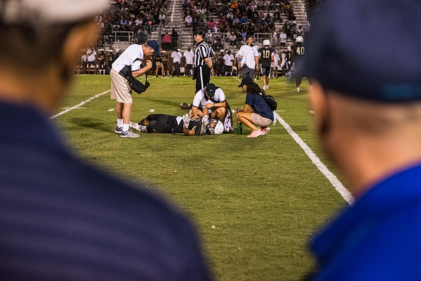 Blythwood Vs. Ridge View on August 26, 2019. John A. Carlos II