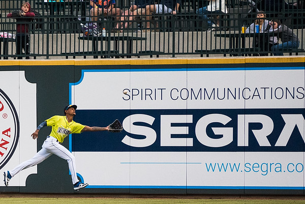 The Columbia Fireflies  played the Charleston RiverDogs, on opening night at Segra Park, on April 4, 2019. John A. Carlos II / Special to The Free Times