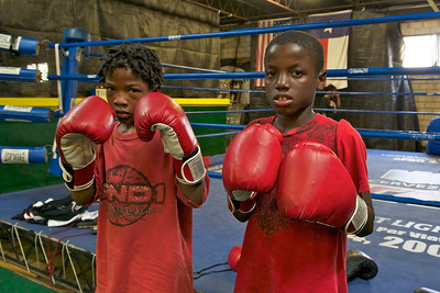 Ann's Wolfe Pack Boxing Program