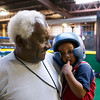 "Donald ""Pops"" Billingsley and ""Buddha"".  Pops originally trained Ann and picks the kids up for training each day."