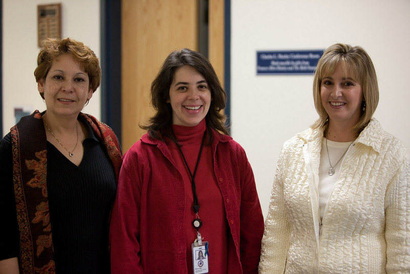 (left to right) Diana Figueroa, Maria Laury, Jackie Morgan all of the Union County Health Dept., Union Smart Start.