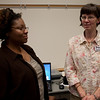 Gypsy Houston and Patricia Poland of the Union County Public Library
