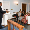 From left to right:  <br /> Chaplain Burns, <br /> Denise D. Cathey (The Solomon House, Health Ministry Education),<br /> Linda Mendinghall (CMC Randolph, RN, MSN)<br /> Bernice J. Miller (Retired)