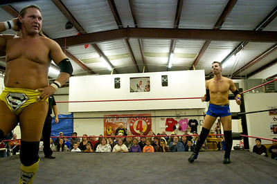 January 22, 2011 - Christian Wrestling Federation Event in Rockwall, TX.