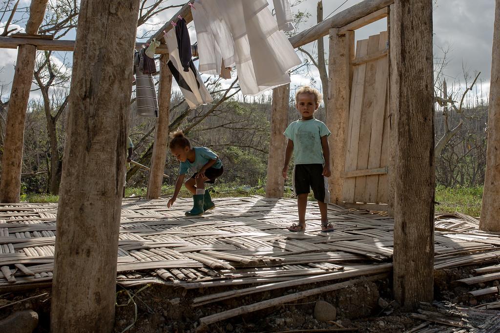 Sainimere, 6 and Alumeci Cokanansiga, 3. Gusuniwai Village, Ra District, Viti Levu, Fiji.
