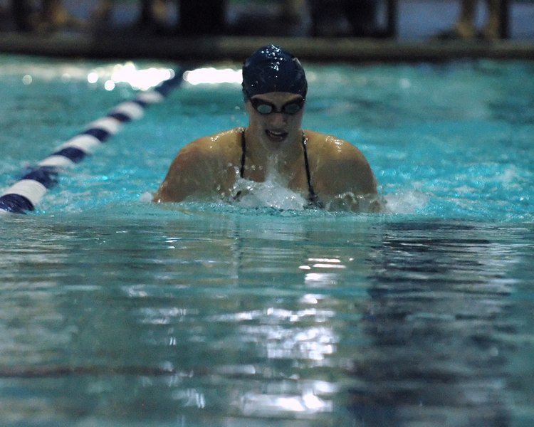 For the Enterprise/John Kossik<br /> Lisa Keane, MDHS, 100 yard Breaststroke